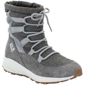 Jack Wolfskin Nevada Texapore Mid-Cut Schuhe Damen grey/white